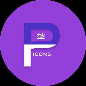 OJ Purple – Round Icon Pack v1.0 APK