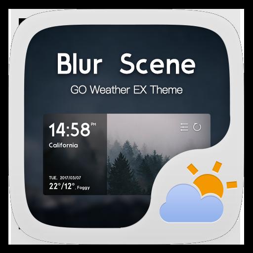 Blur Scene GO Weather Widget