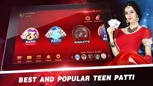 Redoo Teen Patti - Indian Poker (RTP) 3.6.4 screenshots 1