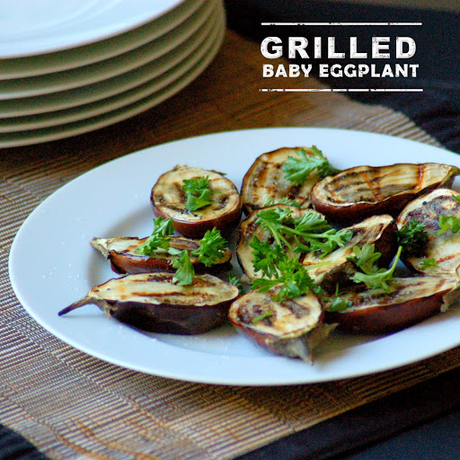 GRILLED BABY EGGPLANT Recipe