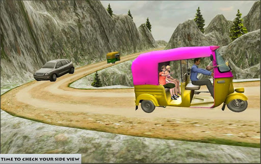 Mountain Auto Tuk Tuk Rickshaw : New Games 2020 screenshots 1