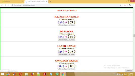 Rajasthan Gold Satta Chart Today - Best Picture Of Chart