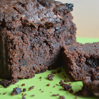 'Freefrom' Fudgy Chocolate Courgette Cake.