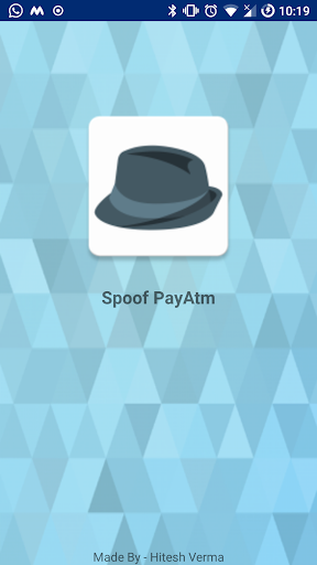 Spoof Payatm 9 0 Apk Download - com itshiteshverma
