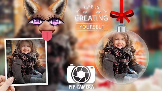 PIP Camera : Blur photo Editor - náhled