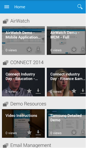 AirWatch Video