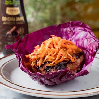 Korean Barbecue Turkey Burgers Recipe