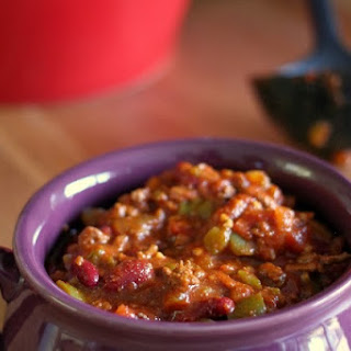 Healthy Chili with a Kick