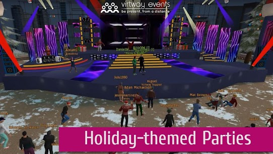 Virtway Events: Virtual 3D World for Online Events 1.2.8 Mod APK (Unlimited) 3