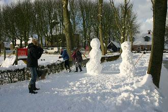 Photo: En dan nu een potje sneeuwballen gooien