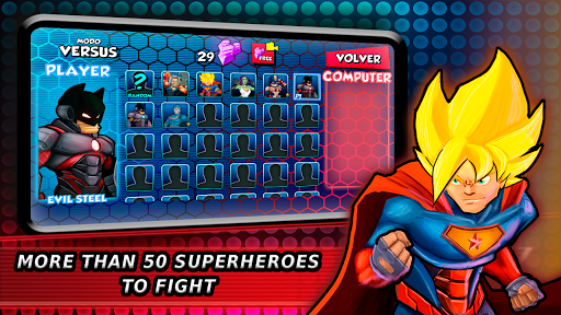 Superheroes Fighting Games Shadow Battle apkpoly screenshots 13