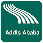 Addis Ababa Map offline Icon
