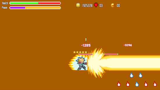 Battle Of Super Saiyan- screenshot thumbnail