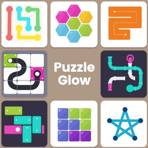Puzzle Glow : Puzzlespiel-Sammlung