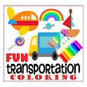 Transportation Coloring Fun icon
