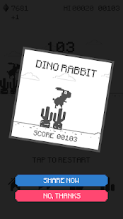 Dino Rabbit - The T-Rex Origins- screenshot thumbnail