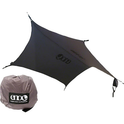 Eagles Nest Outfitters Pro Fly Rain Tarp: Gray