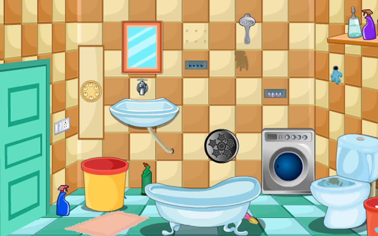 Escape games bathroom android apps on google play for Best bathroom finder app