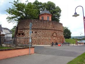 Photo: Pfalzel vor Trier (moselaufwärts)