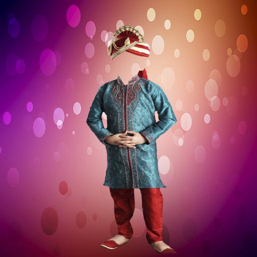 Children Sherwani Photo Suit APK