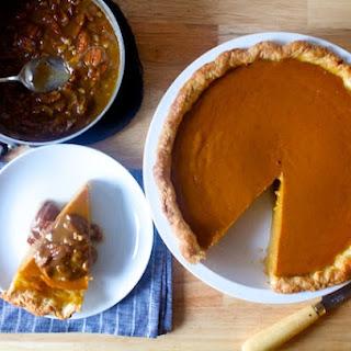Pumpkin Pie With Pecan Praline Topping Recipes