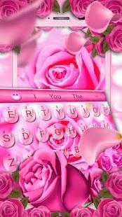 [Download Pink Rose Keyboard Theme for PC] Screenshot 3