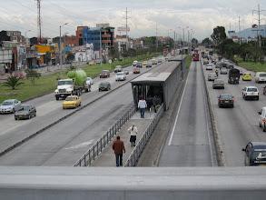 Photo: hurtigbus systemet Trans Milenio