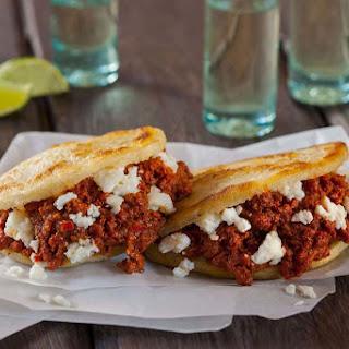 Beef Chorizo and Panela Arepas Recipe
