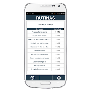 GYMG Fitness & Rutinas- screenshot thumbnail