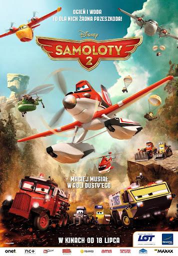 Polski plakat filmu 'Samoloty 2'