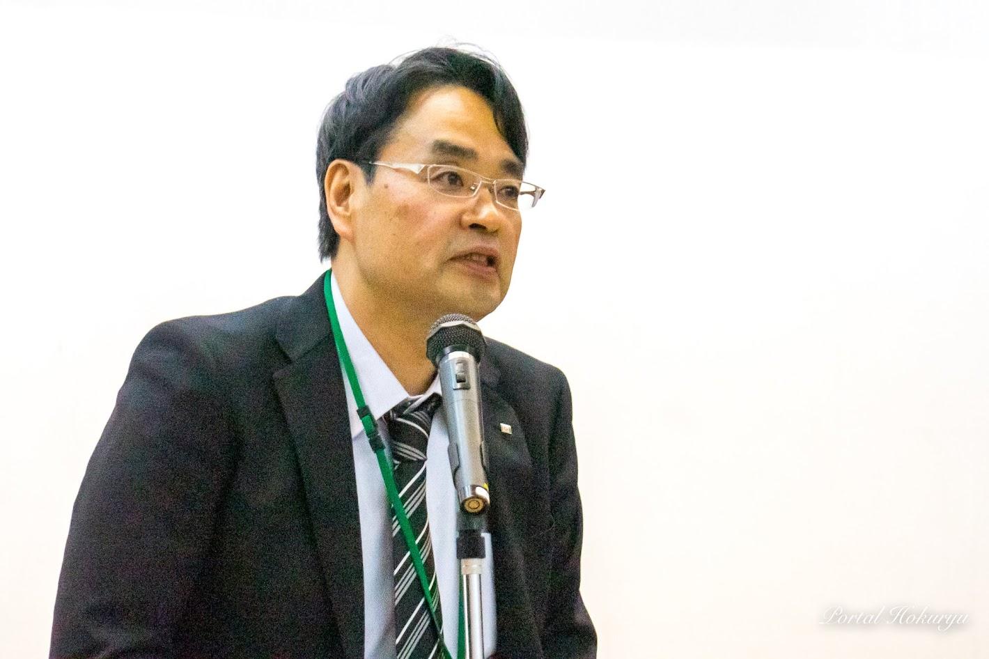 空知総合振興局産業振興部調整課・田中伸彦 課長