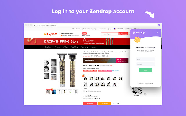 Zendrop - AliExpress Product Importer