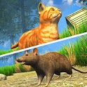 Cat Simulator 2020: Kitty Cat VS Rat Game icon