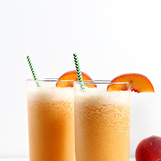 Bourbon Peach Slush.
