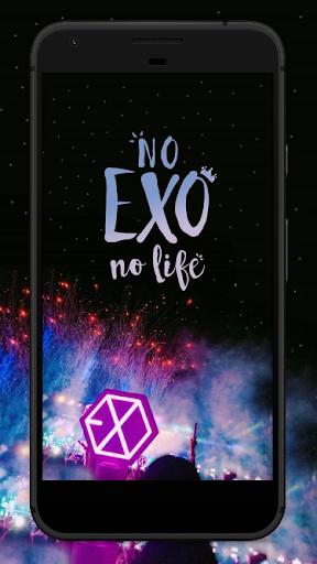 Best EXO Wallpapers Art HD 3.0 screenshots 1
