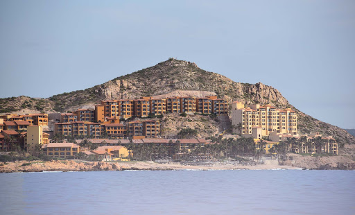 cabo-resort.jpg - Hotels and condominiums along the beach in Cabo.