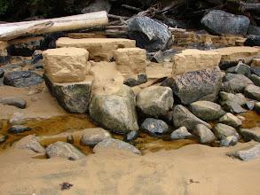 Photo: Stream erosion.