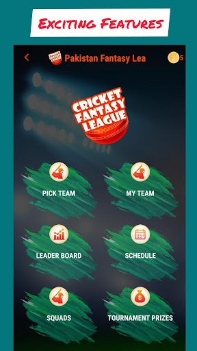 CricFL - Cricket Fantasy League screenshots 1