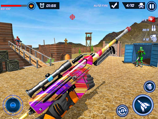 FPS Robot Shooter Strike: Anti-Terrorist Shooting apkpoly screenshots 20