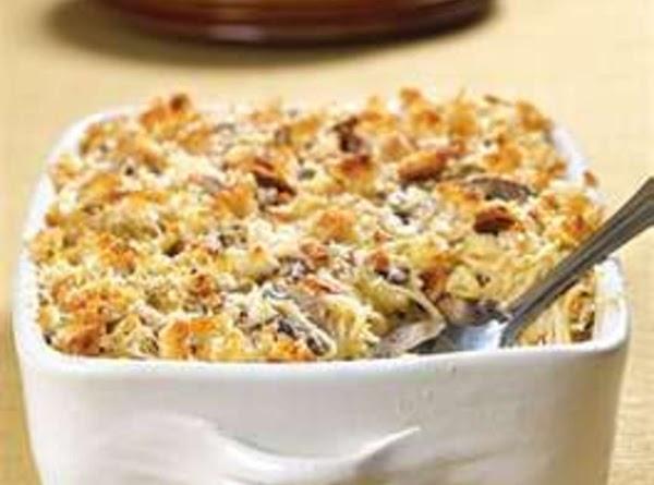 Fresh Vegetable Tetrazzini Recipe