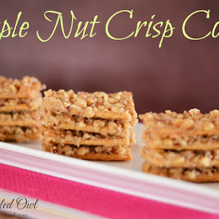 Maple Nut Crisps