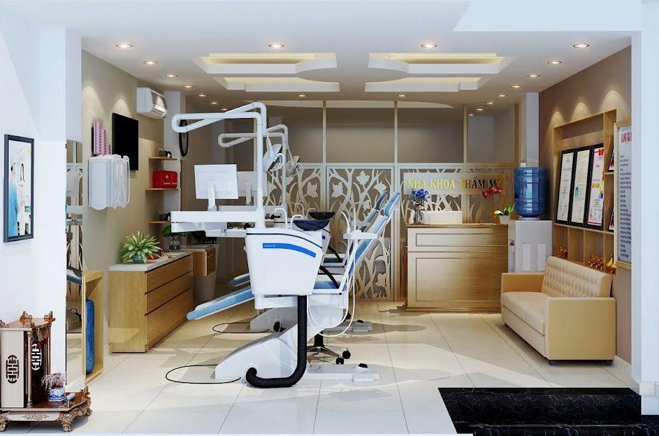 thiết kế phòng khám nha khoa thẩm mỹ 1