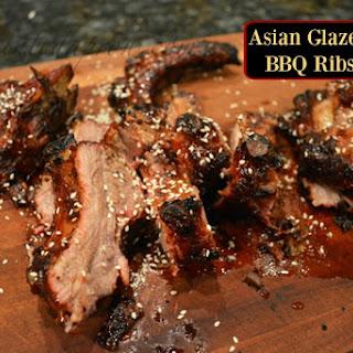 Asian Glazed BBQ Ribs.