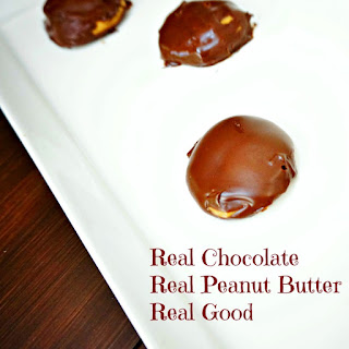 A REAL Chocolate & Peanut Butter Cup