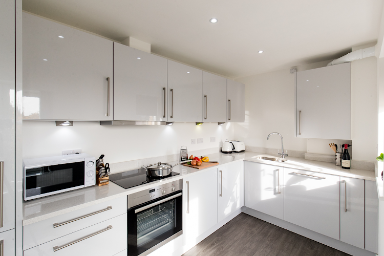 Fully equipped kitchen at Oval View