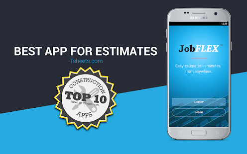 Invoice Maker & Simple Contractor Estimating App