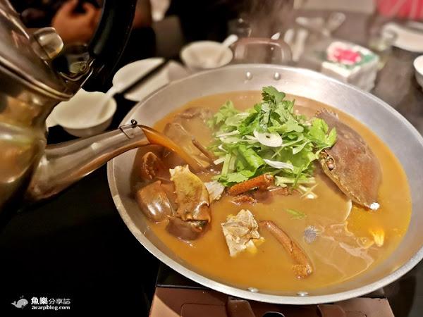 黑潮市集花甲蟹鍋|來自澳門的辣汁花甲蟹火鍋