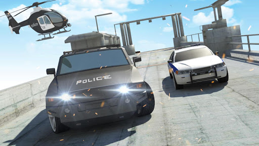 Police Car Driving Sim: Extreme City Stunts  screenshots 2