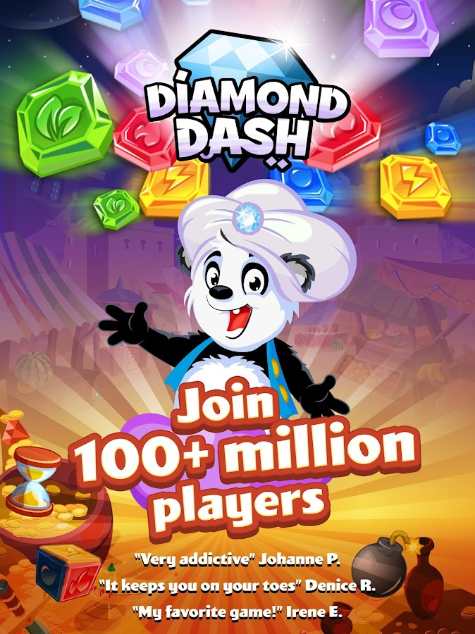 Diamond Dash: The Award-Winning Match 3 Game- screenshot
