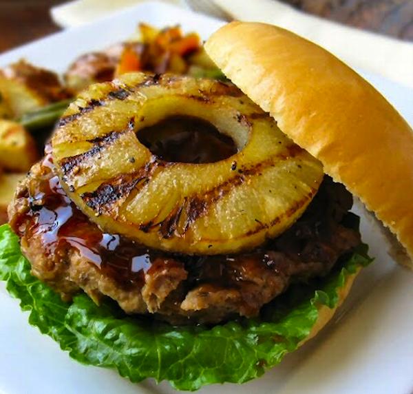 Teriyaki Hamburgers Recipe